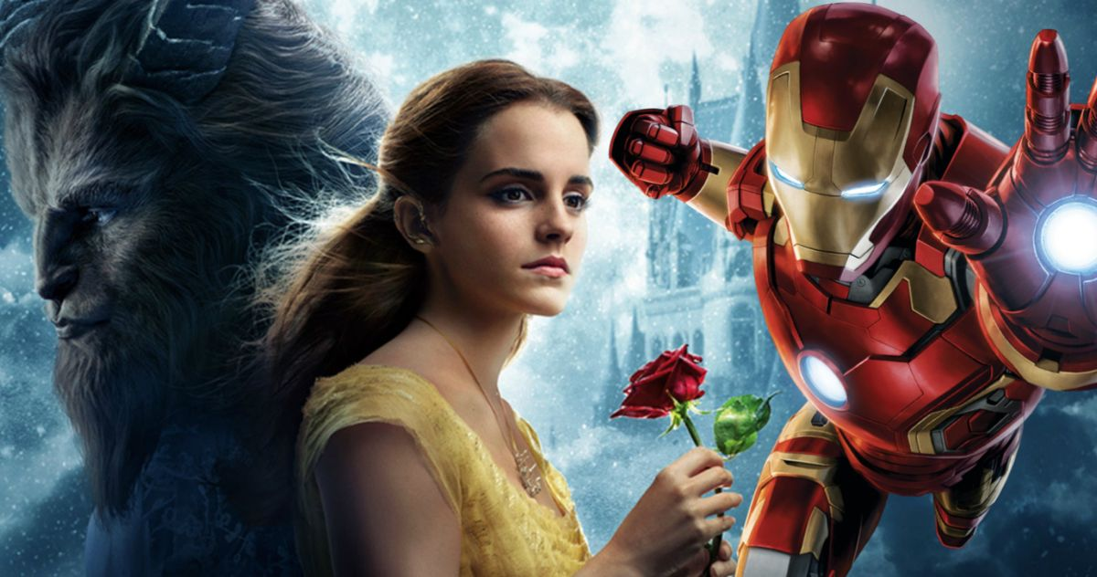 Beauty And The Beast And Iron Man Top Another Weird Weekend At The Box Office