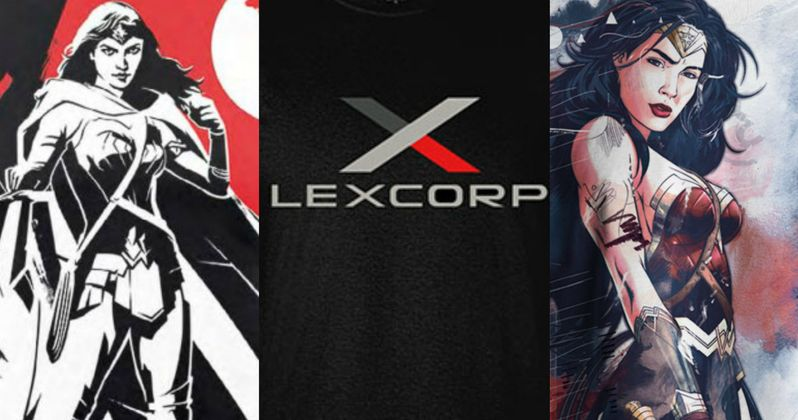 Batman v Superman Shirts Show Off Wonder Woman & LexCorp Art
