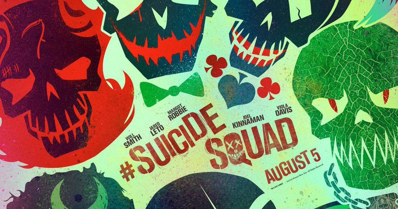Suicide Squad Posters Reveal Worst Heroes Ever