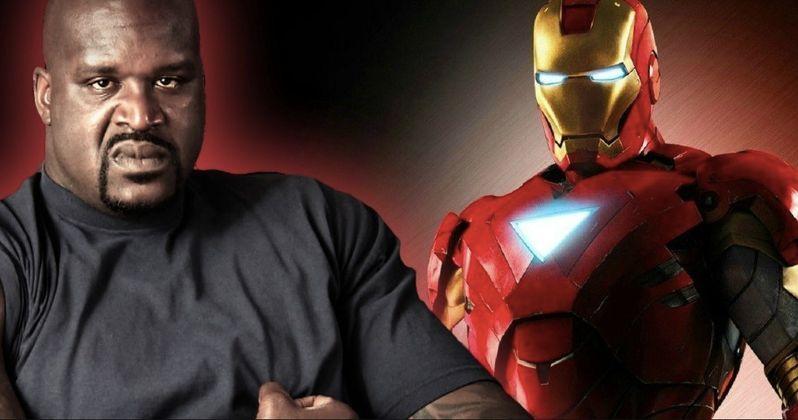 Shaq Wants to Kick Robert Downey Jr.'s Ass in an Avengers Movie