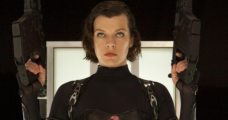 Resident Evil 6 Wraps; Jovovich Shares New Set Photos