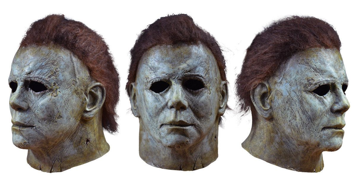 Halloween 2018 Michael Myers Mask.Michael Myers New Halloween Mask Replica Is Awesome