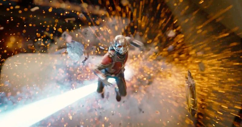 Ant-Man and the Wasp Set Video Teases Dangerous Car Crash