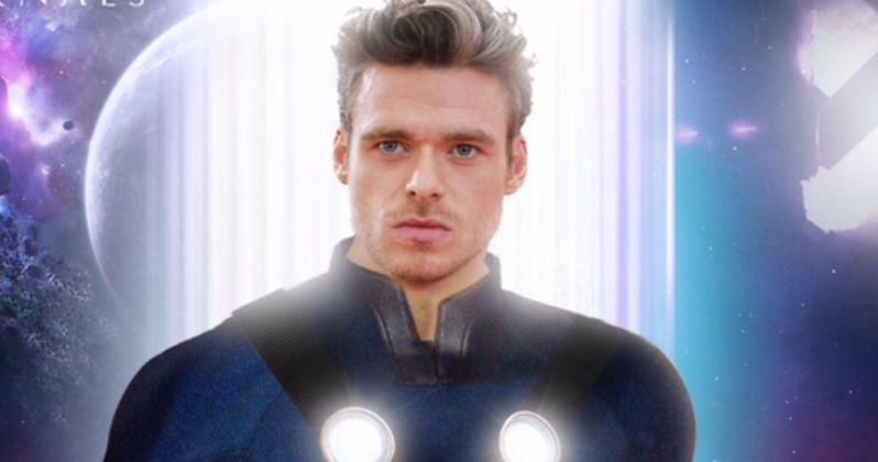 Marvel's Eternals Set Photos Have Richard Madden's Ikaris Dressed in Denim