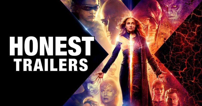 Dark Phoenix Honest Trailer Punches Hard at Dying X-Men Franchise