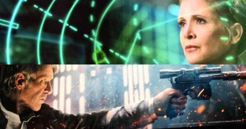 Star Wars 7 Character Banners with Han Solo & General Leia