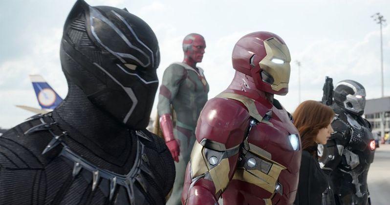 Marvel Releases Hi-Res Captain America: Civil War Photos