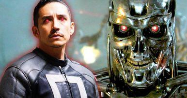 First Look at New Terminator Gabriel Luna on Terminator 6 Set