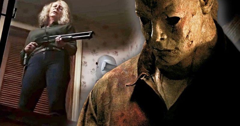Halloween Set Photos Show Off Michael Myer's Hellish Hand Wound