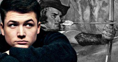 Robin Hood: Origins First Look at Taron Egerton On Set