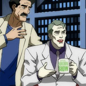 The Joker Threatens to Kill Conan O'Brien in Batman: The Dark Knight Returns, Part 2 Clip