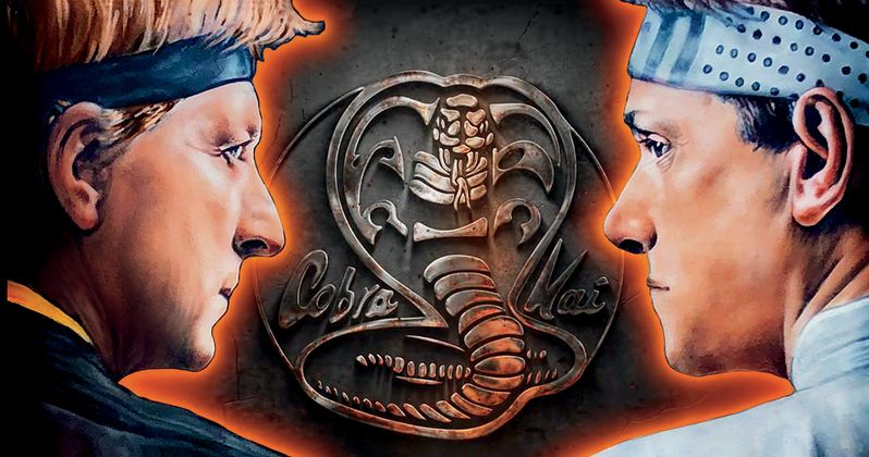 Cobra Kai Seasons 1 & 2 Limited DVD Is Packed with Features and Double-Sided Headband