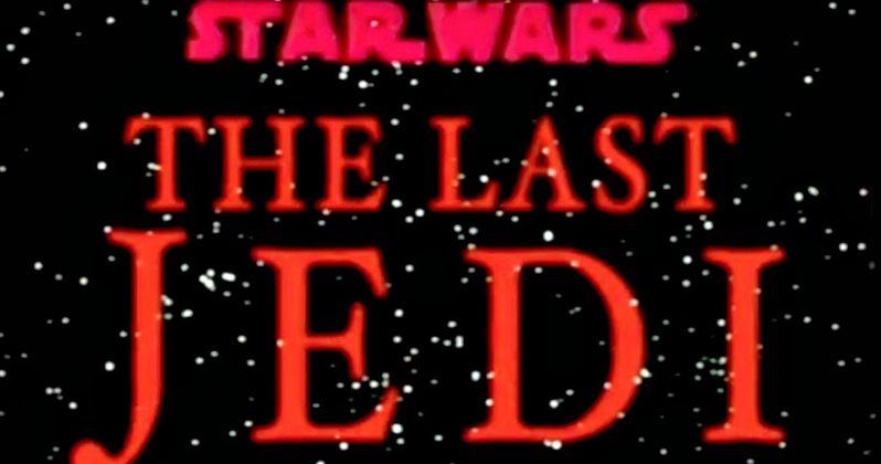 Last Jedi Goes Old School in Star Wars 8 Retro Trailer