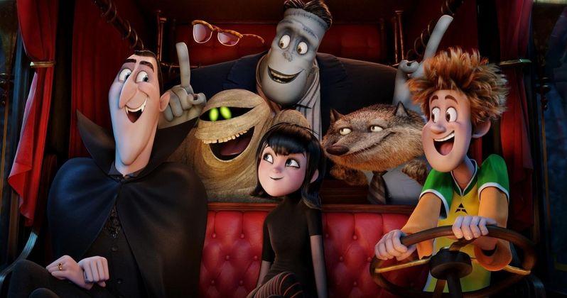 Hotel Transylvania 2 Motion Poster Reunites the Monsters