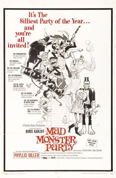 Mad Monster Party (1967)
