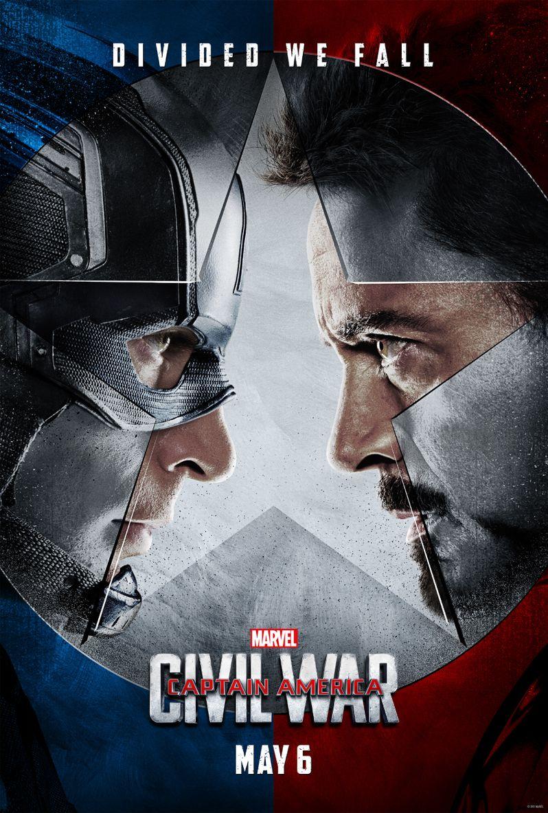 Captain America Civil War Poster #1