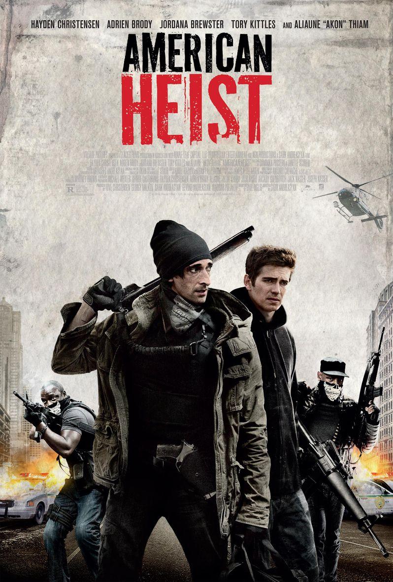 <strong><em>American Heist</em></strong> Poster