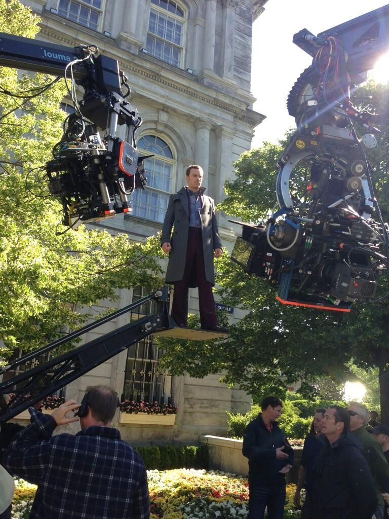 <strong><em>X-Men: Days of Future Past</em></strong> Set Photo