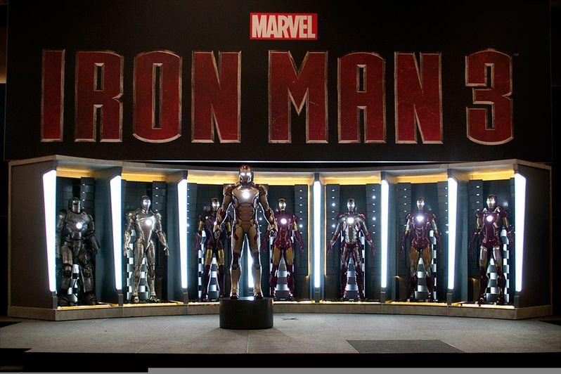 <strong><em>Iron Man 3</em></strong> Armor Photo