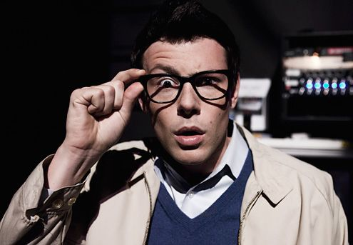 Cory Monteith <strong><em>Glee</em></strong> Rocky Horror Image