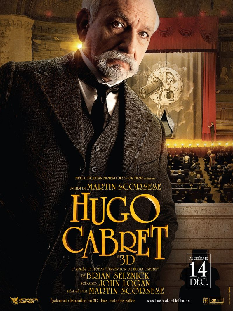 <strong><em>Hugo</em></strong> French Poster #4