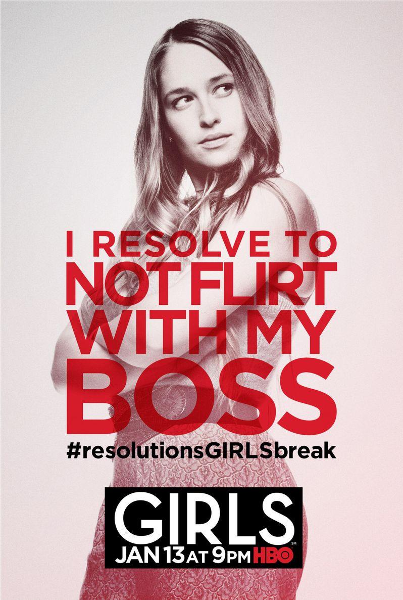 <strong><em>Girls</em></strong> Season 2 Poster 3