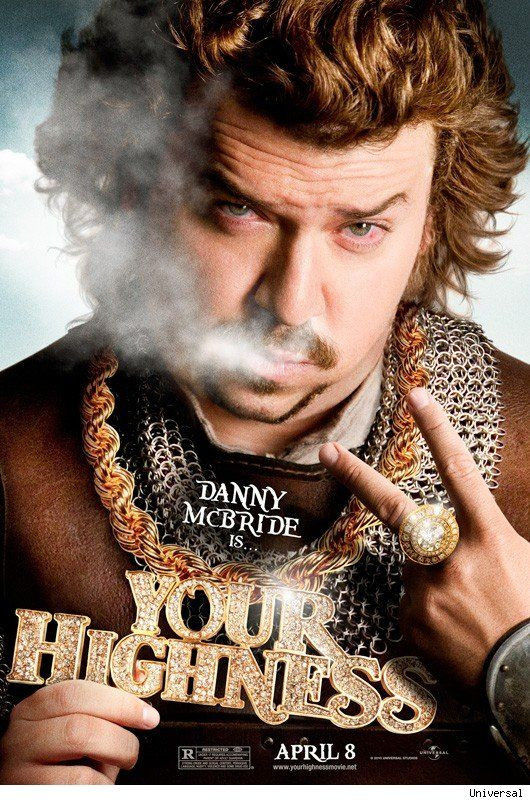 <strong><em>Your Highness</em></strong> Danny McBride Character Poster
