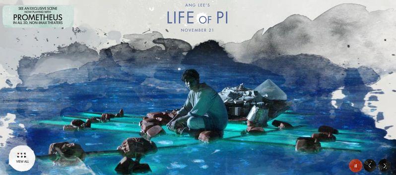 <strong><em>Life of Pi</em></strong> Banner #3