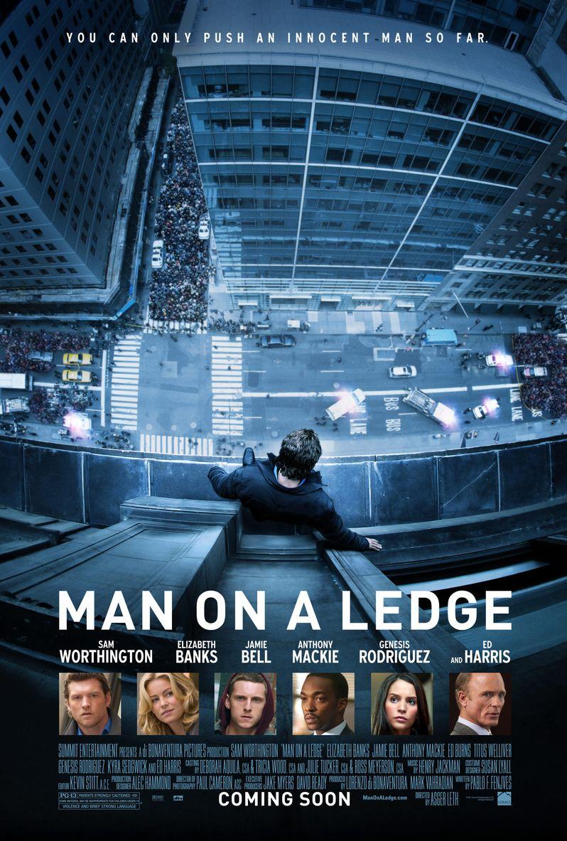 <strong><em>Man on a Ledge</em></strong> Poster
