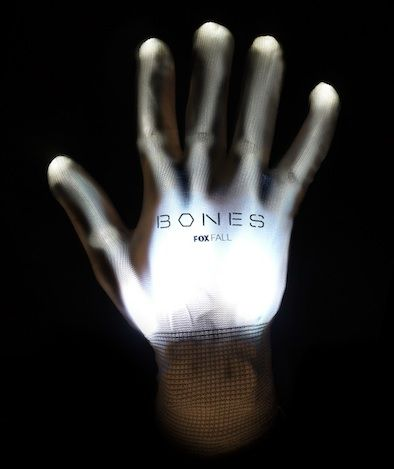 <strong><em>Bones</em></strong> Season 8 X-ray Gloves Poster
