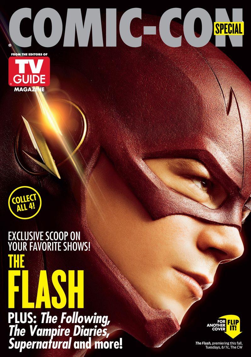 Comic-Con Flash Cover