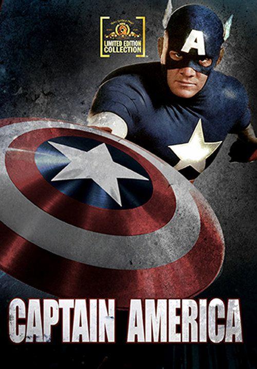<strong><em>Captain America</em></strong> DVD Artwork