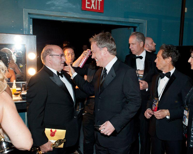2012 Academy Awards Backstage photo 2