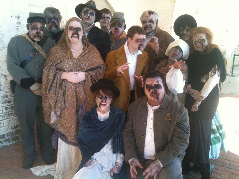 Abraham Lincoln vs. Zombies Set Photo #4