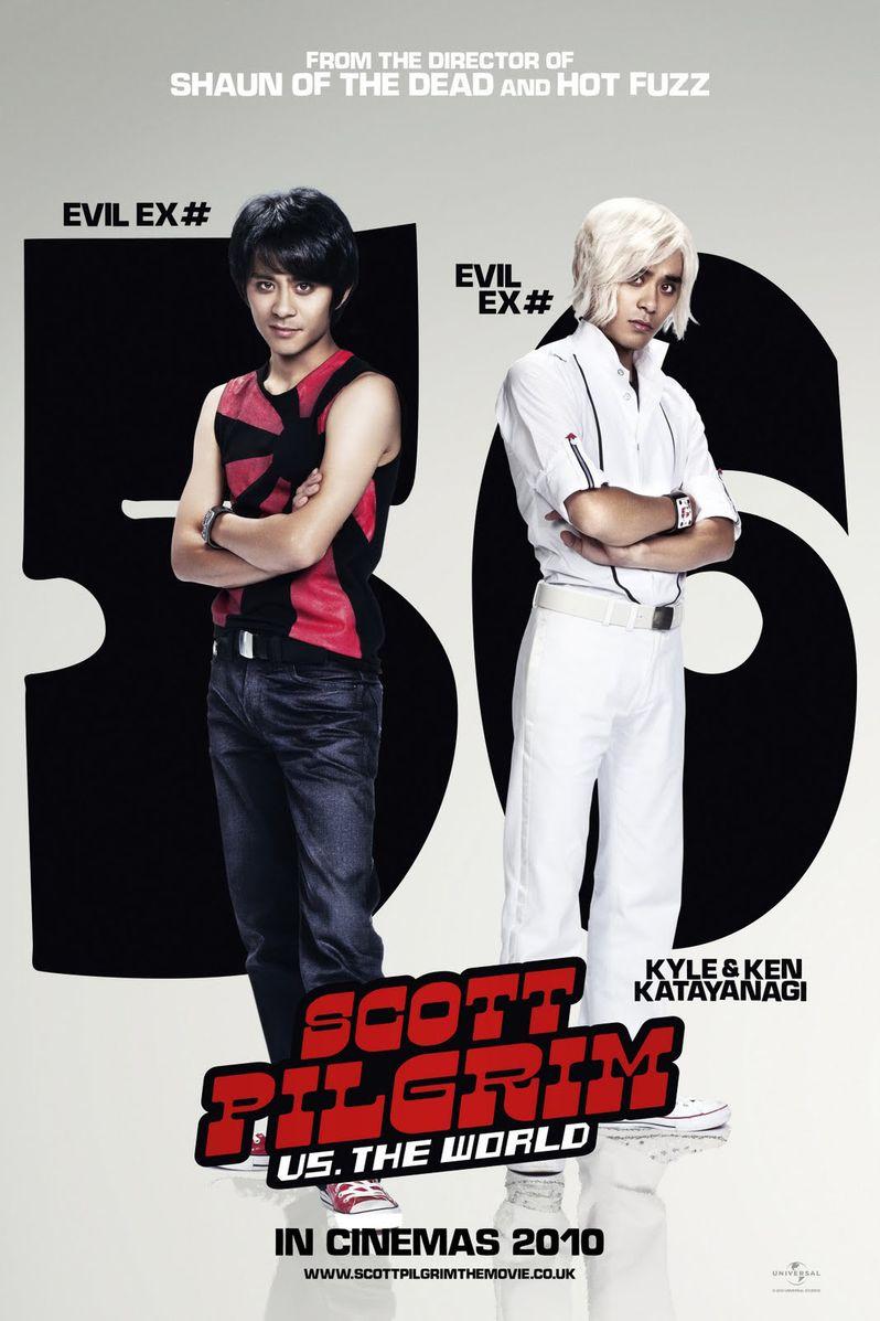 <strong><em>Scott Pilgrim Vs. the World</em></strong> Evil Twins Character Poster