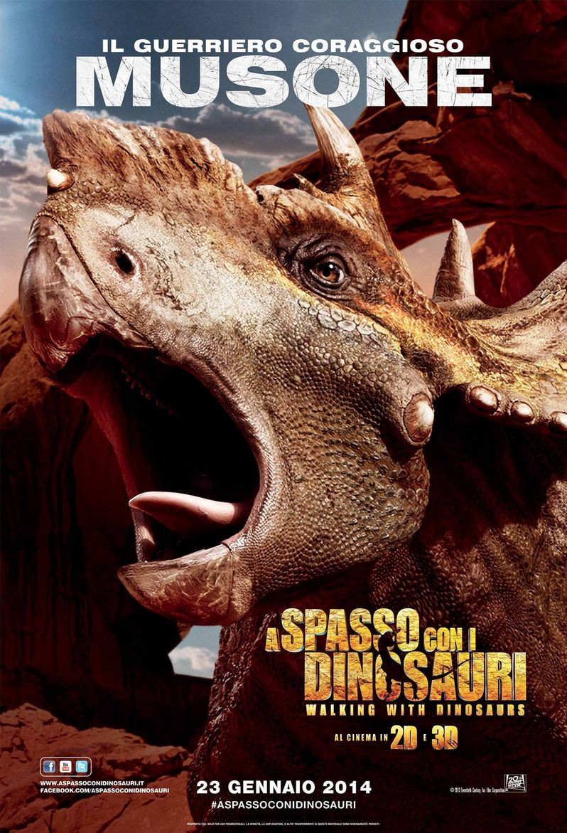 Musone Walking With Dinosaurs Poster