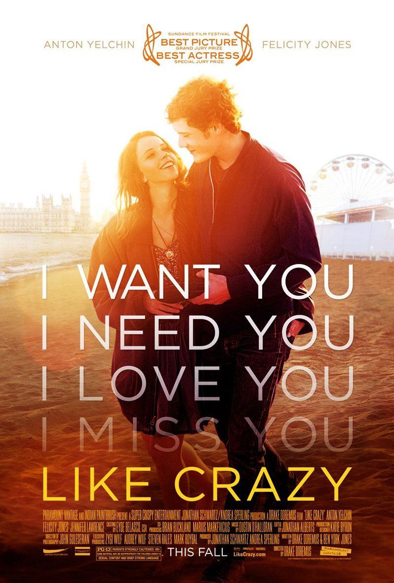 <strong><em>Like Crazy</em></strong> Poster