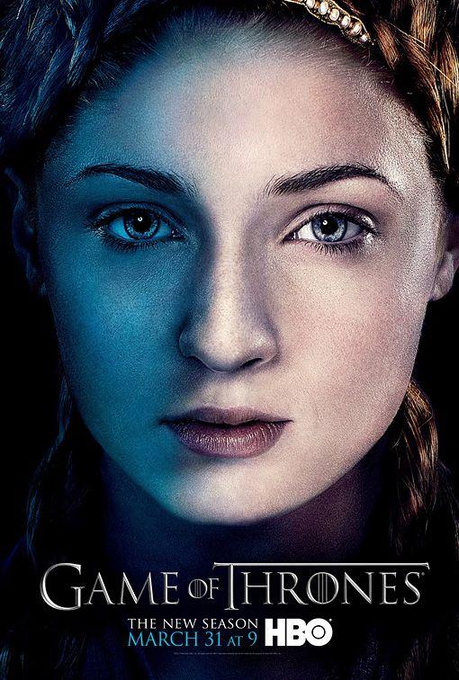 <strong><em>Game of Thrones</em></strong> Sansa Stark Character Poster