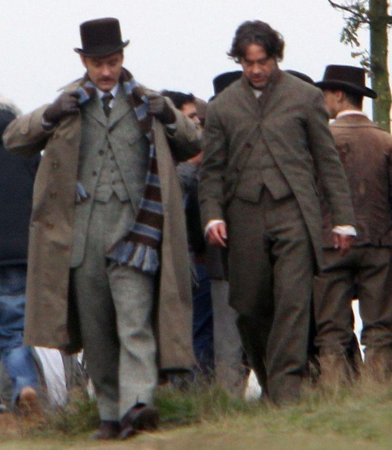 Sherlock Holmes 2 On Set photo 3