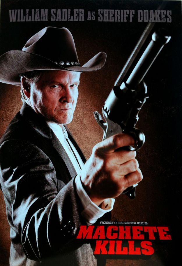 Machette Kills William Sadler Poster