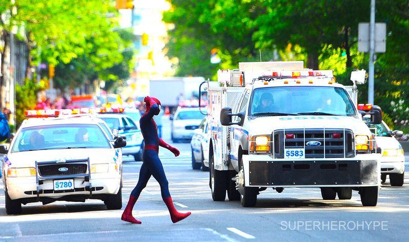 The Amazing Spider-man 2 On Set #4