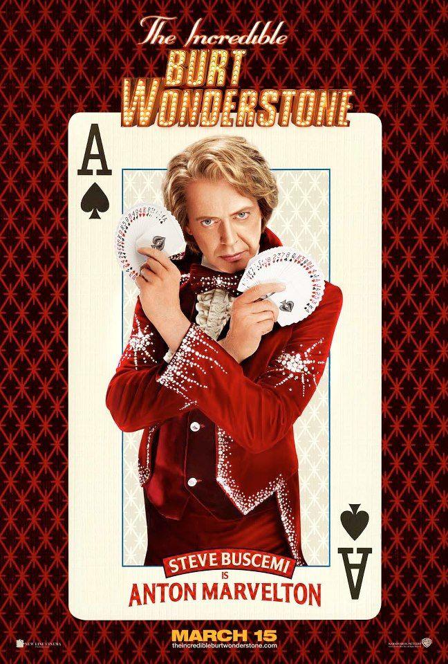 Burt Wonderstone Steve Buscimi Poster