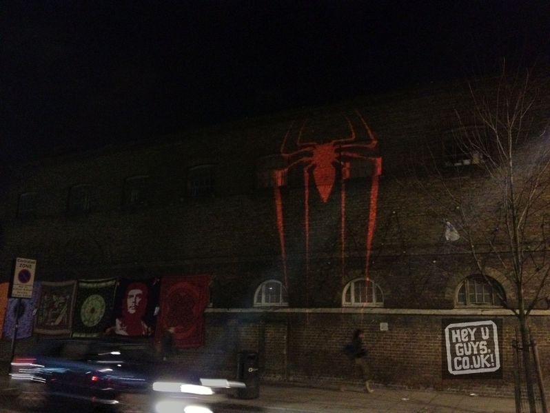 <strong><em>The Amazing Spider-Man</em></strong> London Sneak Peek Photo #1