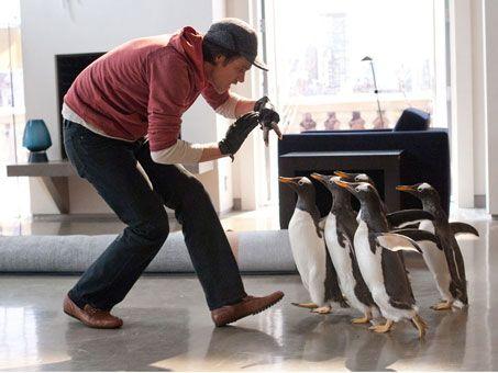 Jim Carrey in <strong><em>Mr. Popper's Penguins</em></strong> #3
