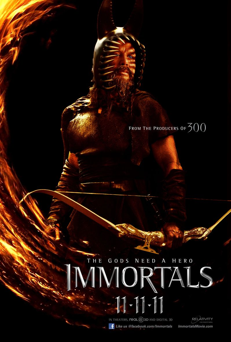 <strong><em>Immortals</em></strong> Character Poster #3