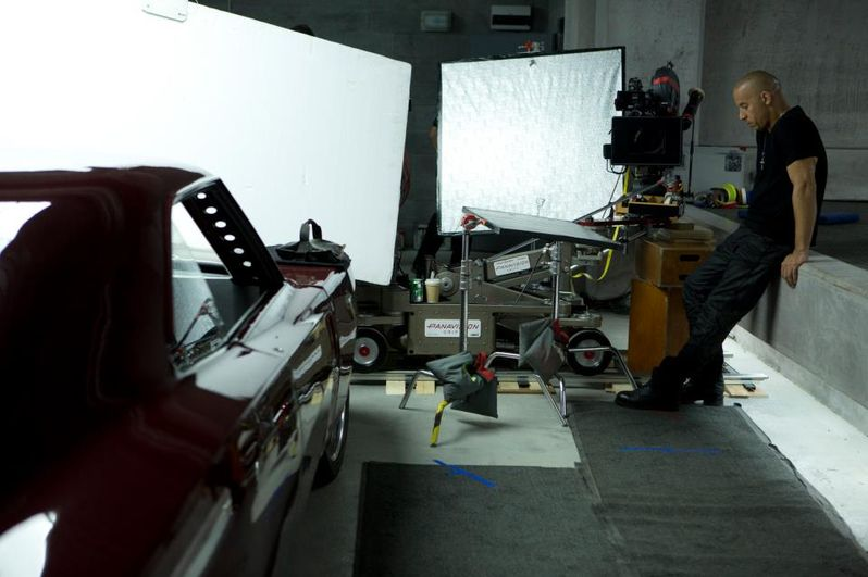 State of Dom The Fast and the Furious 6 Set Photo