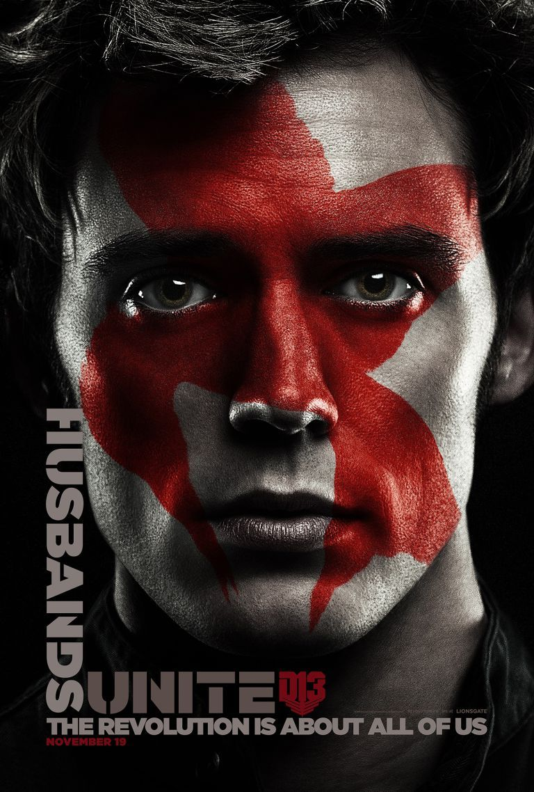 <strong><em>The Hunger Games: Mockingjay Part 2</em></strong> Finnick Poster