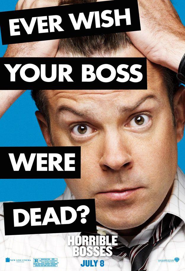 <strong><em>Horrible Bosses</em></strong> Jason Sudeikis Character Poster