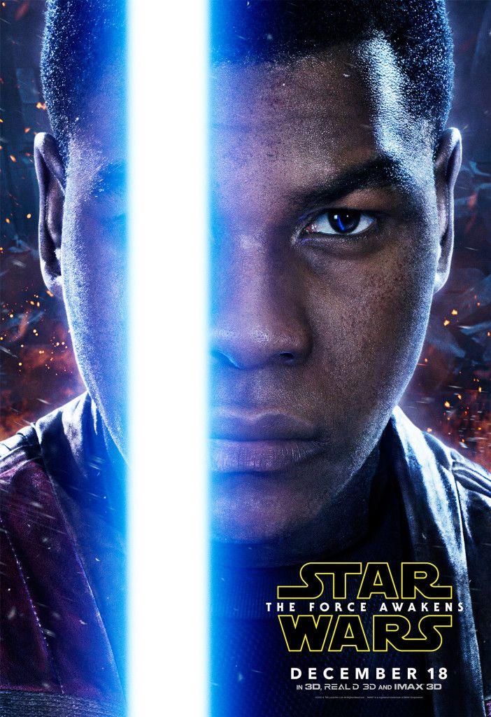 Star Wars 7 Character Poster Finn