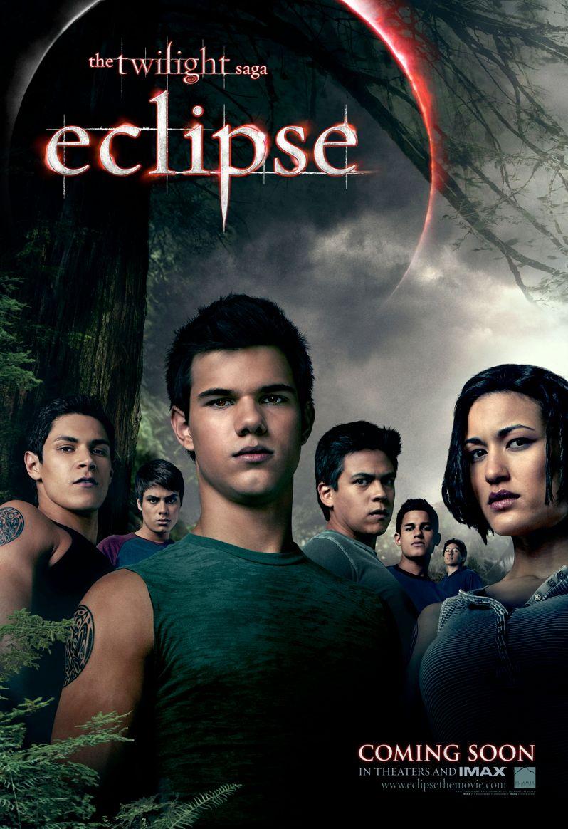 <strong><em>The Twilight Saga: Eclipse</em></strong> Wolfpack poster